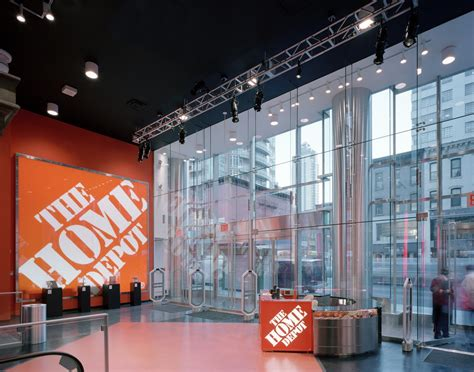 the home depot 3rd avenue store design greenbergfarrow