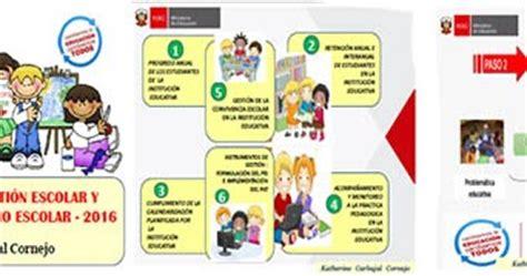 matriz de los 6 compromisos de gestion educapro calca los 6 compromisos de gesti 211 n escolar 2016