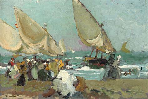 cuadros de sorolla wikipedia file joaqu 237 n sorolla y bastida barcas en la playa de