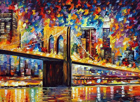 paint nite nyc coupon code new york bridge palette knife painting on