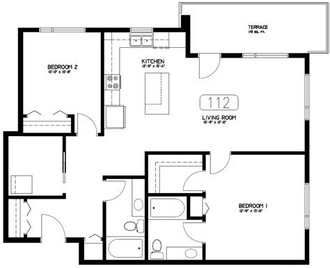 unique condo house plans 4 2 bedroom condo floor plans