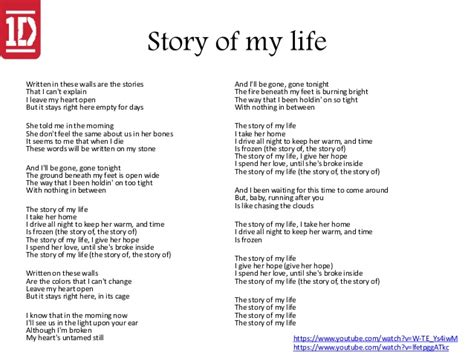 the story of life where we are tour one direction