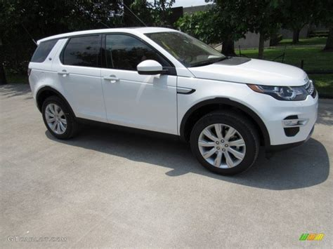 white land rover 2017 2017 fuji white land rover discovery sport hse luxury
