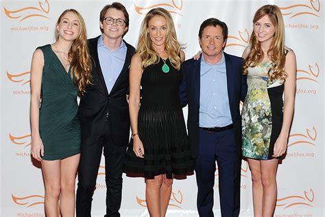 michael j fox family michael j fox s family inspires his comeback