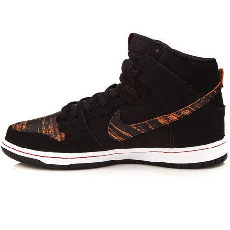 nike dunk high shoe nike dunk high pro sb shoes black black 10