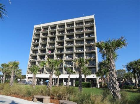 south side myrtle motels hotel from the side picture of windsurfer hotel