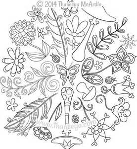 nature mandalas coloring book nature mandalas coloring book by thaneeya mcardle