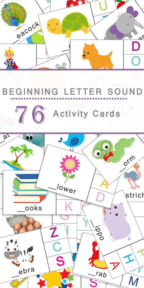 beginning card beginning letter sounds flashcards 187 one beautiful home