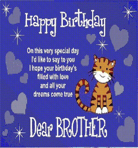 Happy  Ee  Birthday Ee   Dear Brother Free For Brother Sister