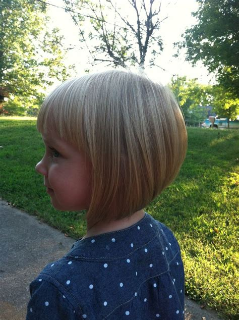 kids angled bob haircut my little girl s inverted bob with bangs