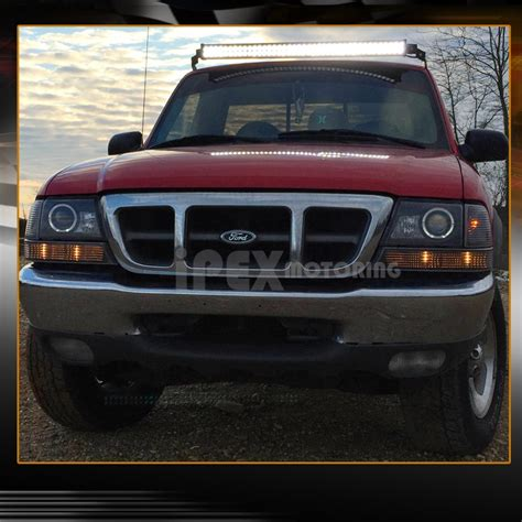 2000 ford ranger lights 1998 2000 ford ranger halo led projector headlights