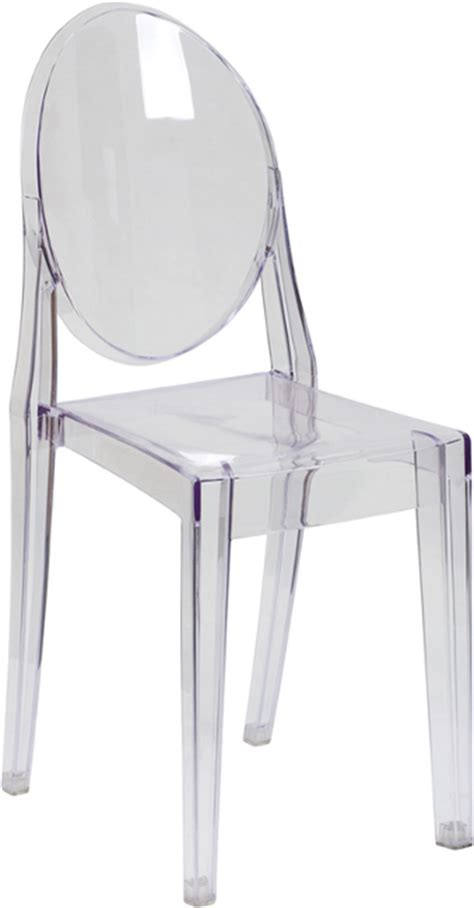 Ghost Chair Armless by Armless Clear Stacking Ghost Chair