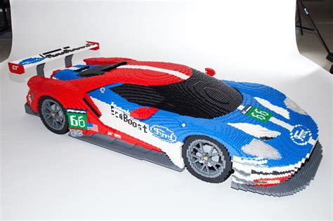 lego ford ford gt deux maquettes en lego aux 24 heures du mans l