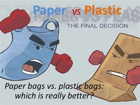 How To Make Paper Like Plastic - paper vs plastic 2