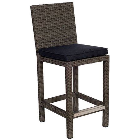 Walmart Wicker Bar Stools by Atlantic Monza 43 Quot Outdoor All Weather Wicker Barstools