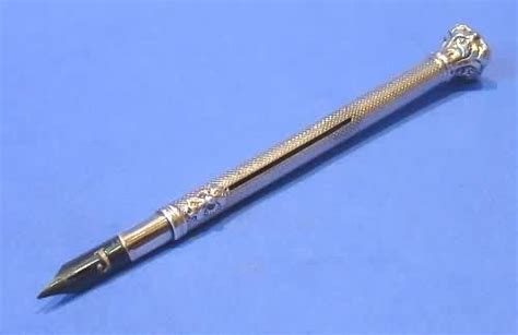 with pen and pencil its and literature its and business classic reprint books antique silver bloodstone dip pen pencil