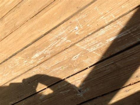 peeling deck stain   year doityourselfcom