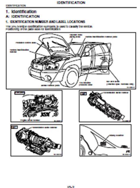 motor auto repair manual 2005 subaru forester navigation system subaru forester 2005 service manual forester car service manuals