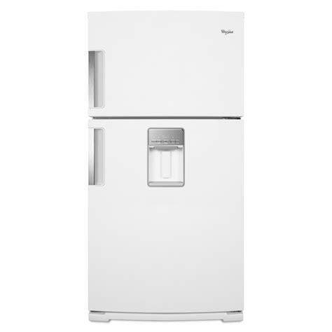 best door refrigerator without water dispenser whirlpool top freezer refrigerator 21 1 cu ft wrt771reyw