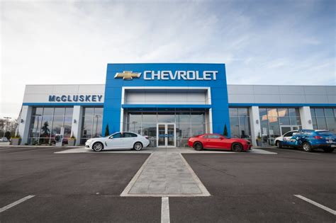 chevy impala dealership how to choose a car dealership mccluskey chevrolet