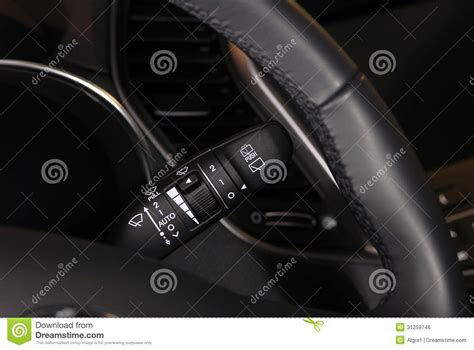 windshield wiper switch royalty free stock image image 31259746