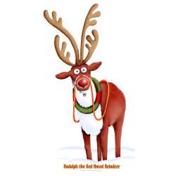 advanced graphics rudolph red nosed reindeer size cardboard stand 481