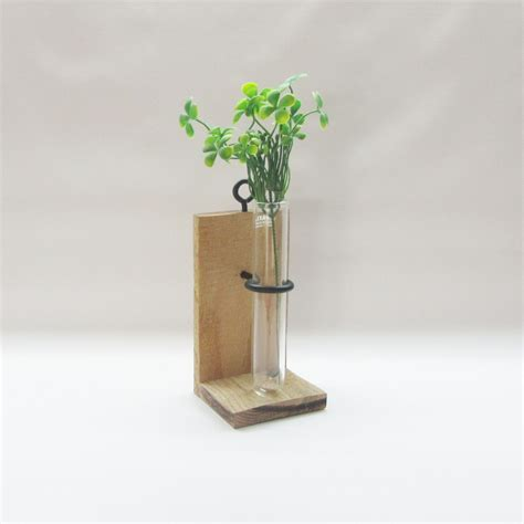 Wall Mounted Vase Holder by 2 In 1 Wall Mount Or Table Top Test Vase Holder