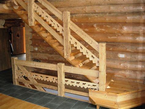 escalier en bois interieur