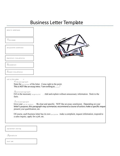 35 Formal Business Letter Format Templates Exles Template Lab Letter To Template