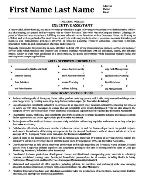 office manager resume template executive assistant office manager resume template