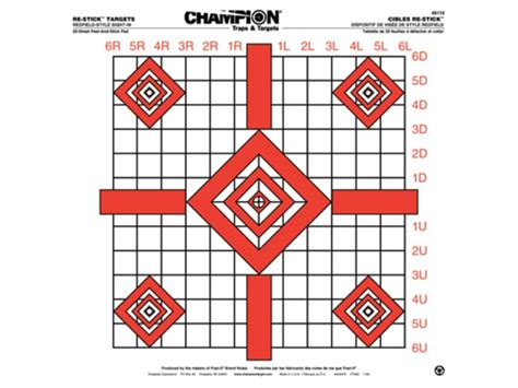 printable targets midway chion re stick updated redfield sight in self adhesive
