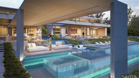 Modern Contemporary Floor Plans by 30 Yet To Be Built Modern Dream Homes By Saota Part 1