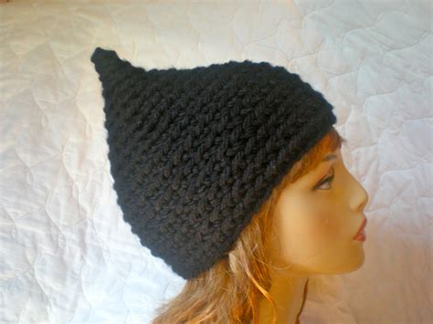 pixie hat pattern pixie hat gnome elf pointed hat easy crochet pdf