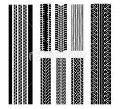tire tread pattern in spanish tire tread pattern 003 tires pinterest patterns