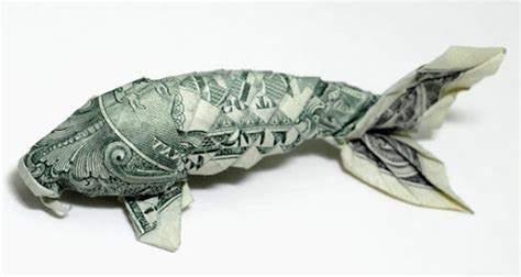 Catfish Dollar Origami - amazing paper folding origami using money
