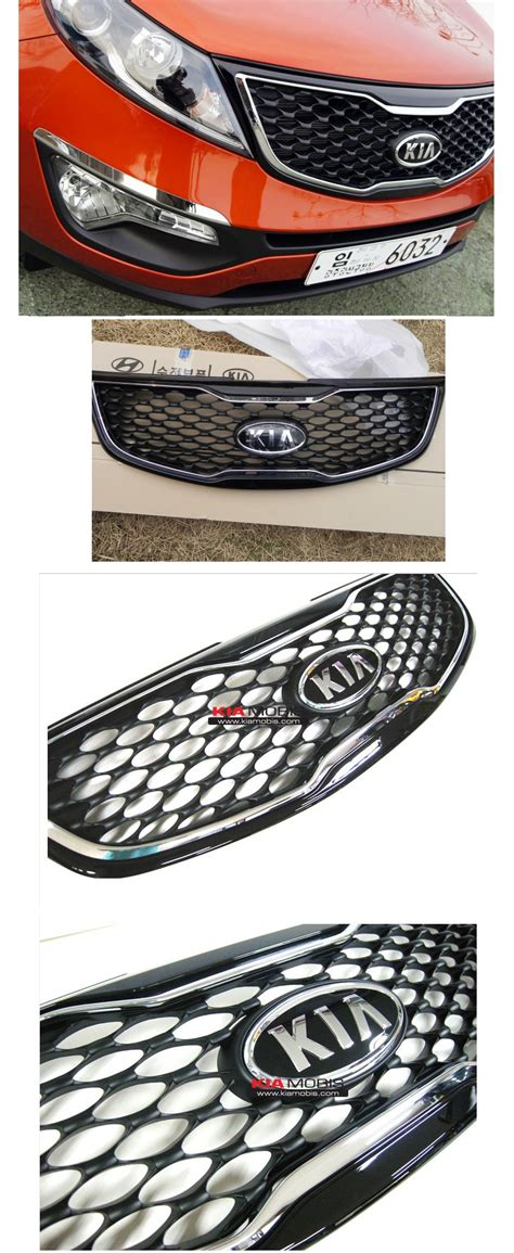 Kia Aftermarket Parts Genuine Front Radiator Gdi Grill Grille For 2011 2012 2015