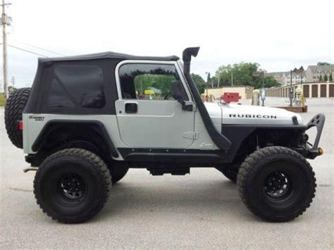00 Jeep Wrangler Buy Used 00 Jeep Wrangler Sport 4x4 Rock Crawler Road