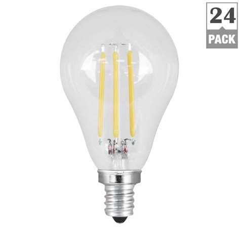 outdoor candelabra led light bulbs feit electric 60w equivalent daylight 5000k a15