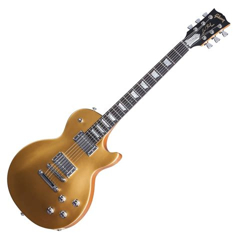 Gitar Guitar Elektrik Electric Gibson Les Paul Top Costum gibson les paul tribute hp electric guitar satin gold top 2017 at gear4music