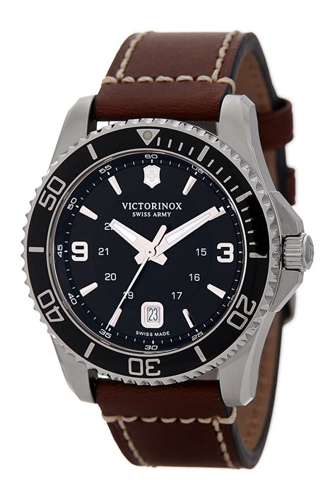 Swiss Army Brown Cover Black victorinox swiss army s maverick leather nordstrom rack