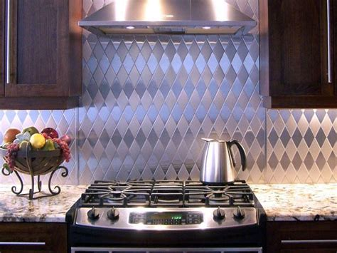 stainless steel kitchen backsplash panels how to make the most of stainless steel backsplashes