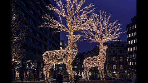 under the christmas lights stockholm the lights