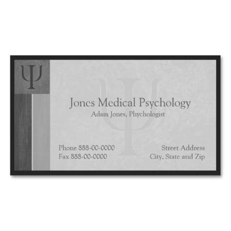 i need a card template 271 best images about psychology business cards on