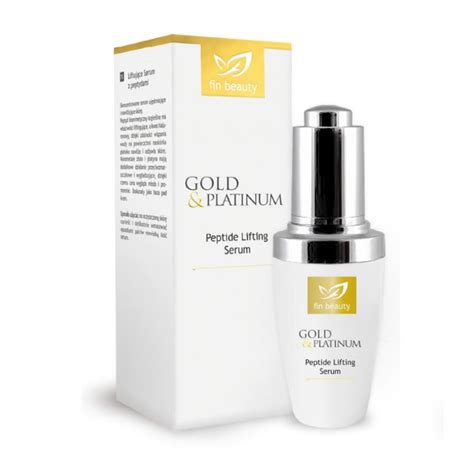 Serum Platinum Gold fin peptide lifting serum finclub org uk