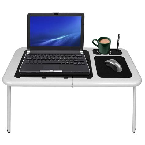 Portable Desk For Laptop Laptop Buddy Portable Workstation Table With Fan 189411 Office At Sportsman S Guide