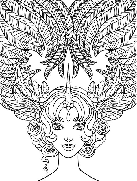 coloring pages of people s hair 10 crazy hair adult coloring pages coloring pages