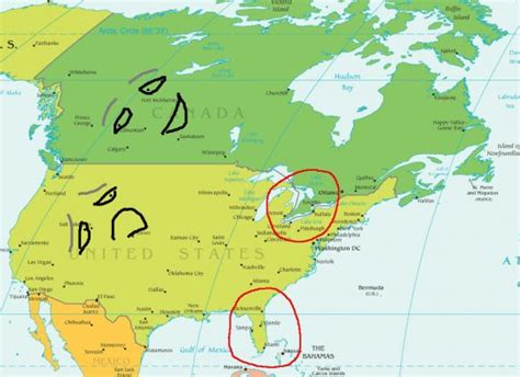 map of us canada and south america my american friend made us a cake for canada day