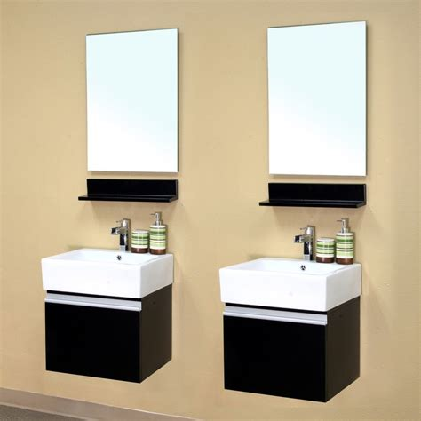 bellaterra 41 quot matching single wall mount vanity