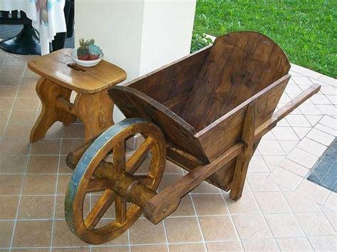 carriola da giardino carriola in legno attrezzi giardino carriola in legno