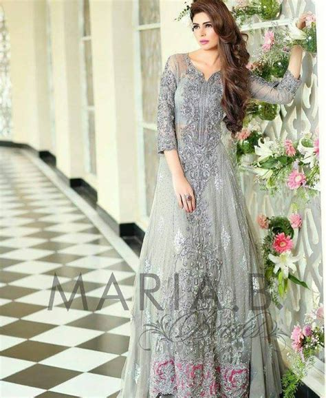 Maria B Bridal Collection Wedding And Formal Dresses Colorful Embroidered Frocks For Girls Fashion Pakistan | maria b latest bridal collection 2017 2018 wedding dresses